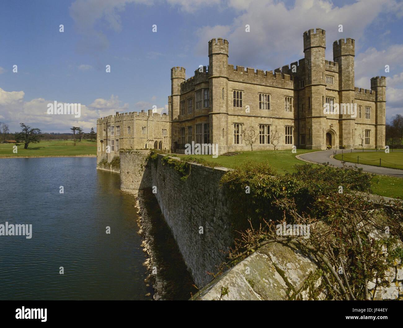Il Castello di Leeds. Kent. In Inghilterra. Regno Unito Immagini Stock