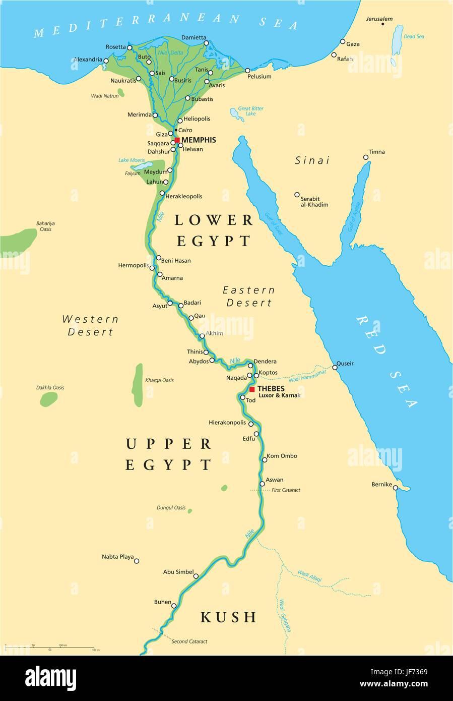 Cartina Egitto In Italiano.Storico Africa Egitto Antico Mappa Atlas Mappa Del Mondo Nilo Immagine E Vettoriale Alamy