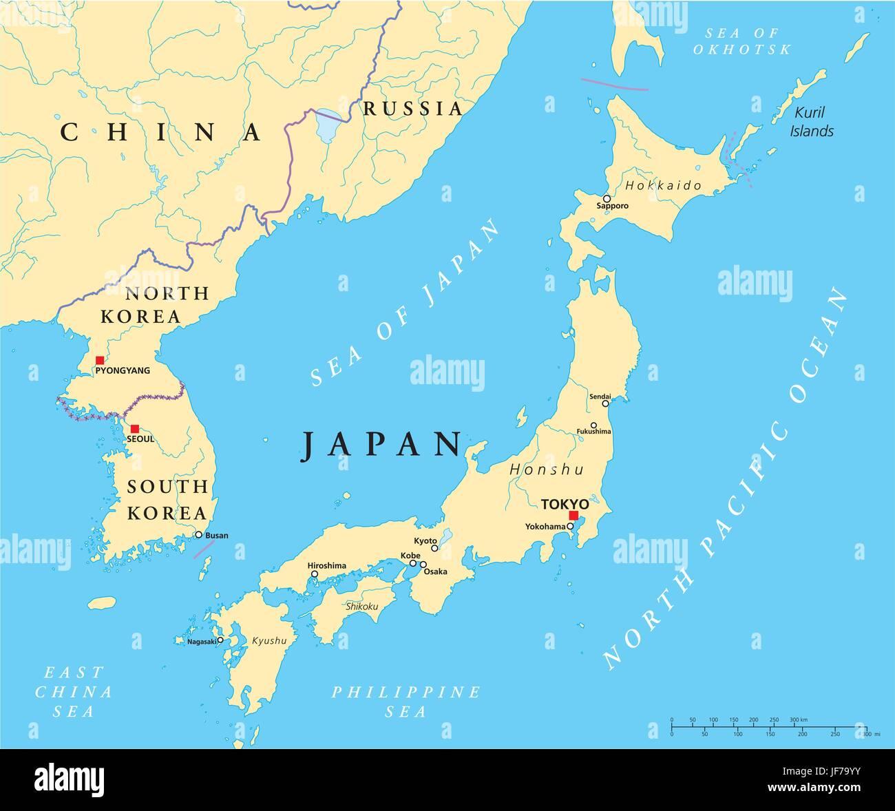 Cartina Mondo Corea.Giappone Corea Corea Del Nord Mappa Atlas Mappa Del Mondo Tokyo Illustrazione Immagine E Vettoriale Alamy