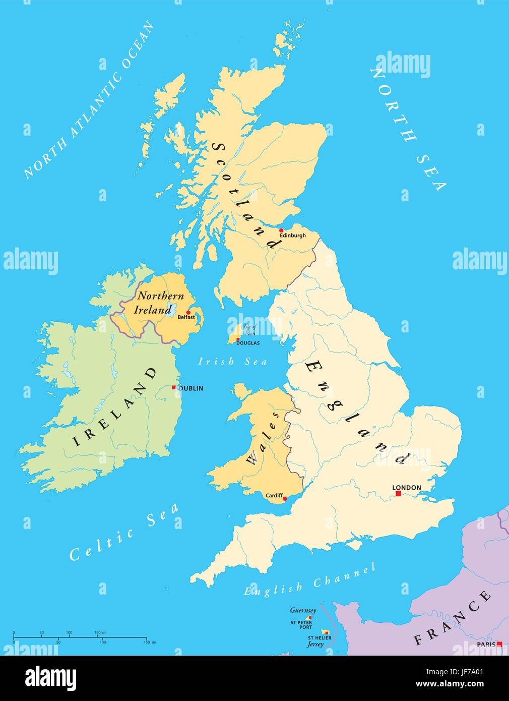 Cartina Gran Bretagna Regioni.Isole L Irlanda Britannico Gran Bretagna Mappa Atlas Mappa Del Mondo Viaggi Immagine E Vettoriale Alamy