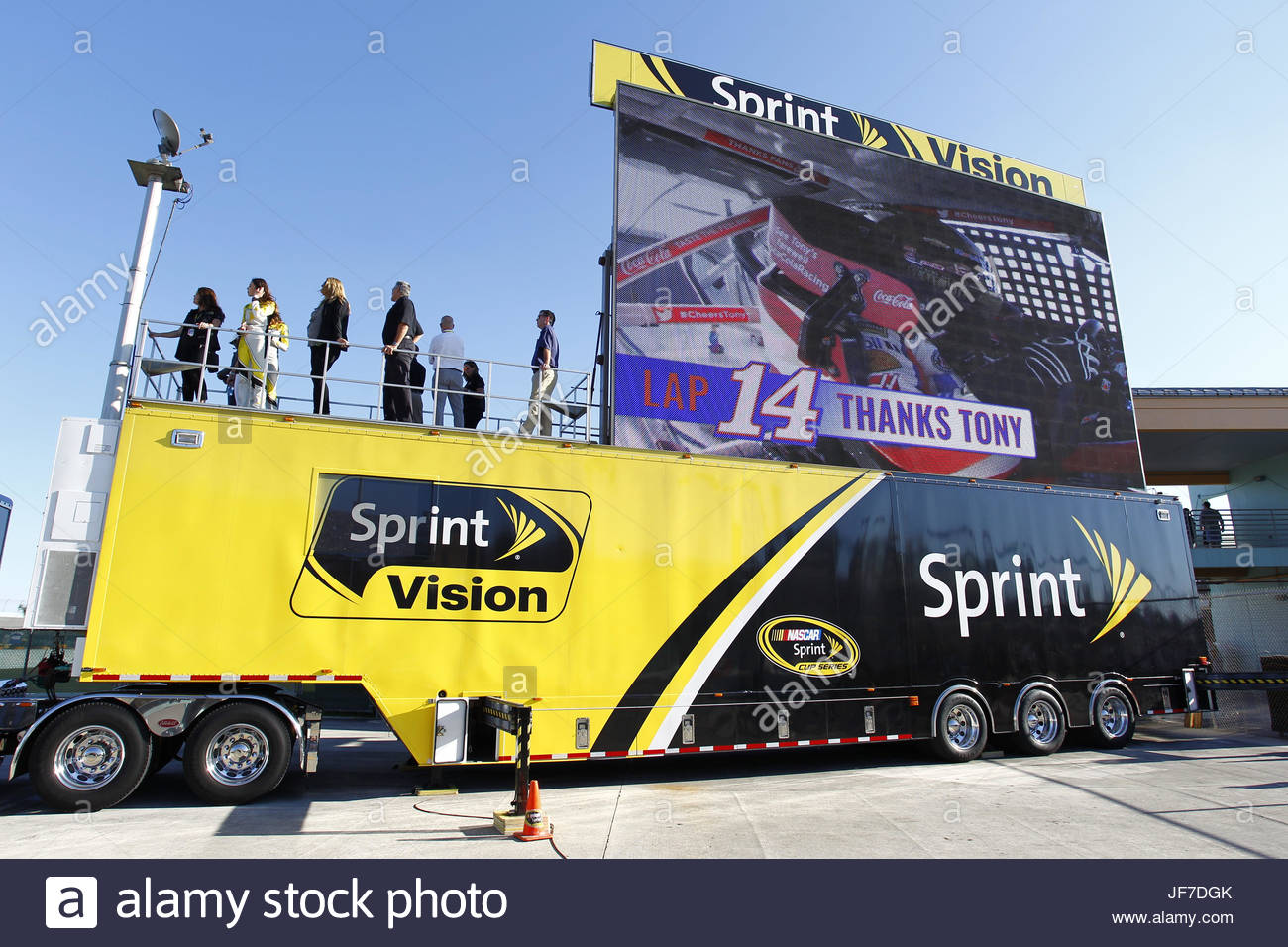 NASCAR: Nov 20 Ford EcoBoost 400 Immagini Stock