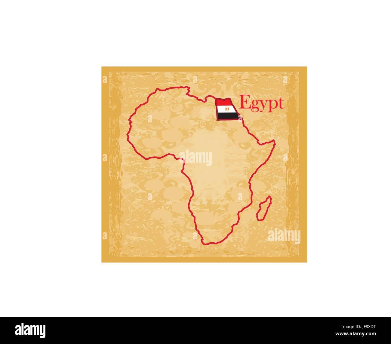 Cartina Africa Egitto.Mappa Politica Dell Africa Immagini E Fotos Stock Alamy