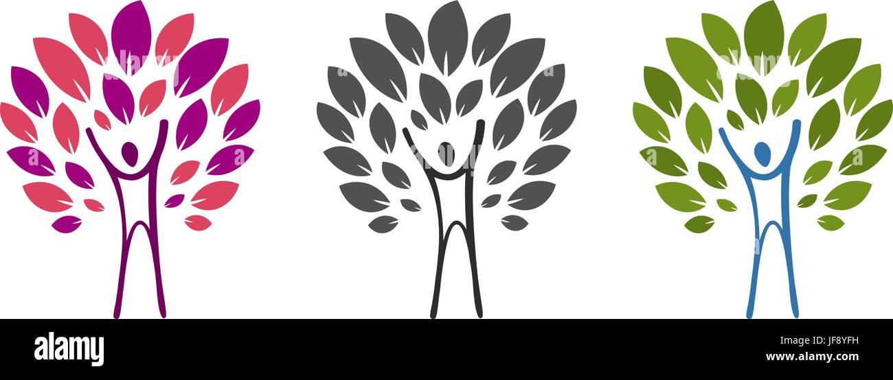 Struttura Astratta E Uomo Logo Salute Benessere Prodotto Naturale Natura Icona O Etichetta Illustrazione Di Vettore Isolato Su Sfondo Bianco Immagine E Vettoriale Alamy