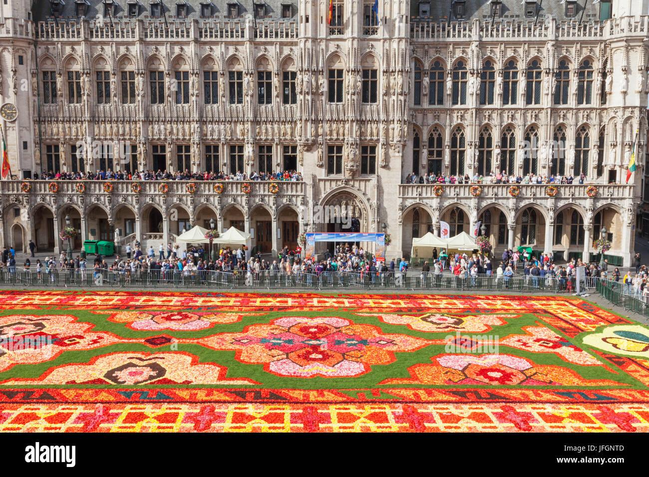 Tappeto Floreale Bruxelles : Il tappeto di fiori a bruxelles