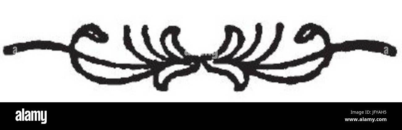 Elemento grafico Tipografia de Gemelli 1 Immagini Stock