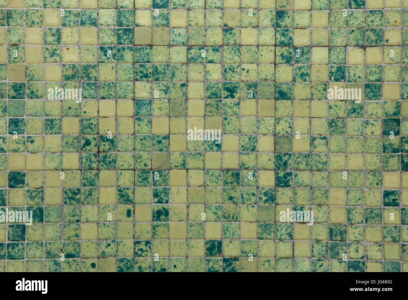 Verde piastrelle a mosaico texture di sfondo foto immagine