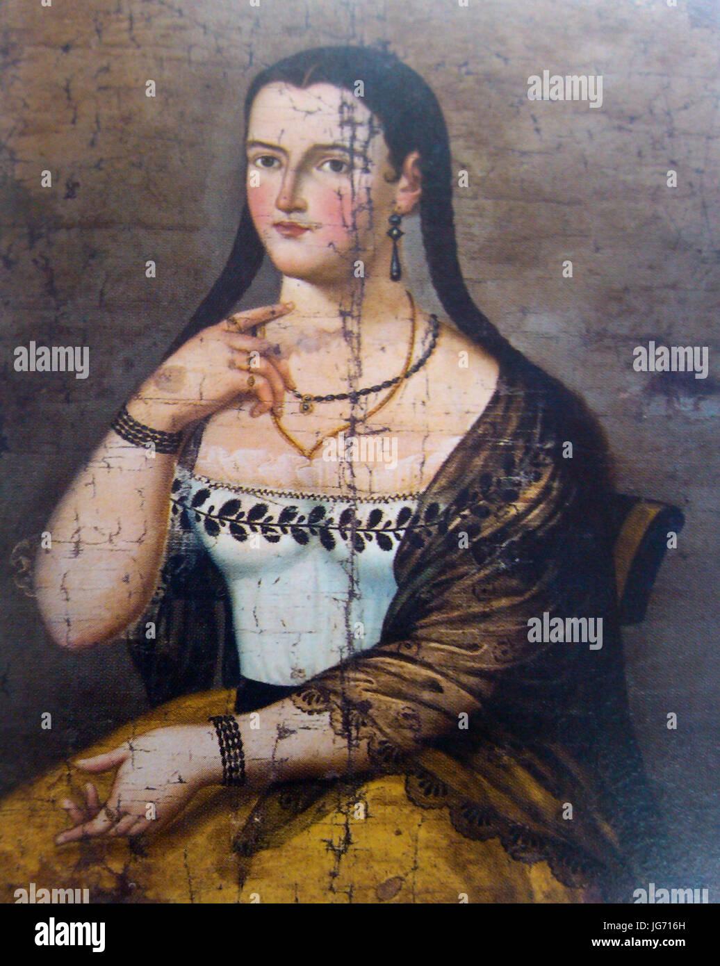 Manuela CaơB1izares (adolescente) 02 Immagini Stock