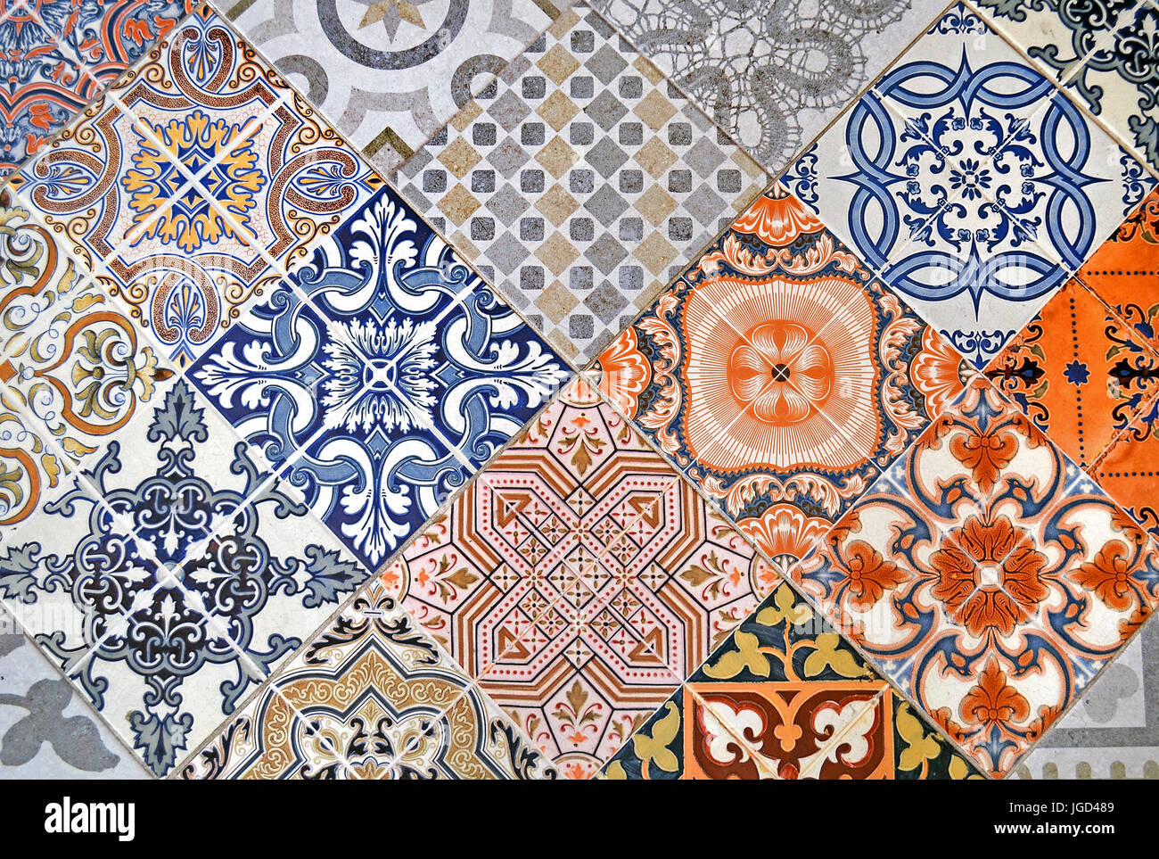 Patchwork tile immagini patchwork tile fotos stock alamy