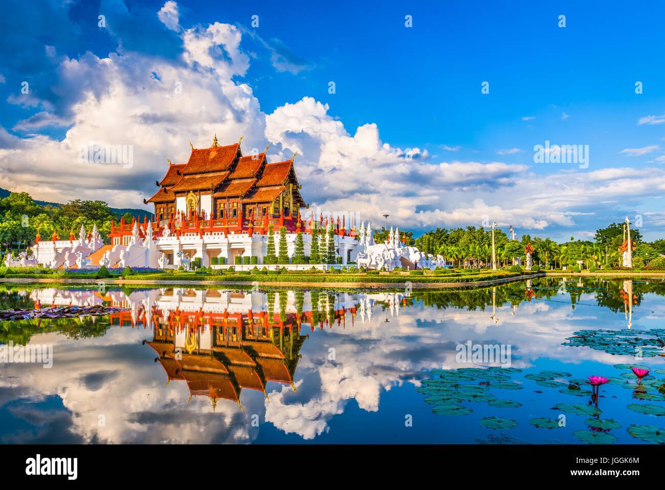 Chiang Mai, Thailandia presso il Royal Ratchaphruek Flora Park. Immagini Stock