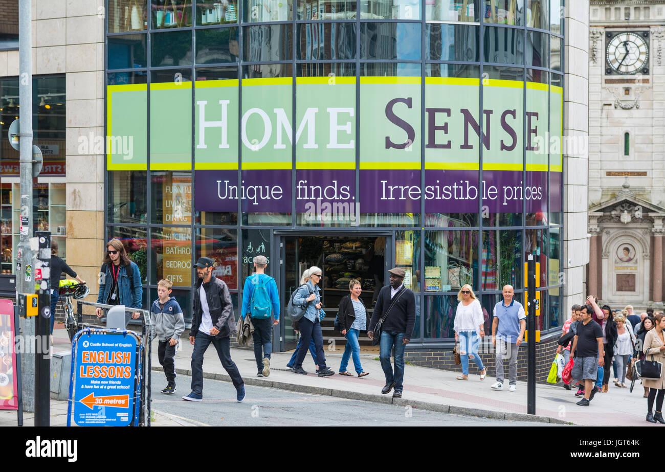 Home senso conservare in Brighton, East Sussex, Inghilterra, Regno Unito. Immagini Stock