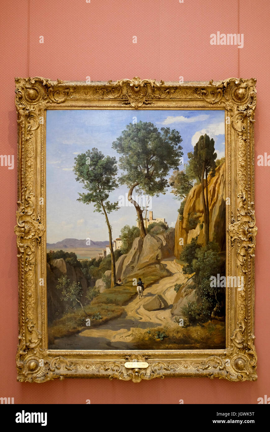 Corot Painting Immagini Corot Painting Fotos Stock Alamy
