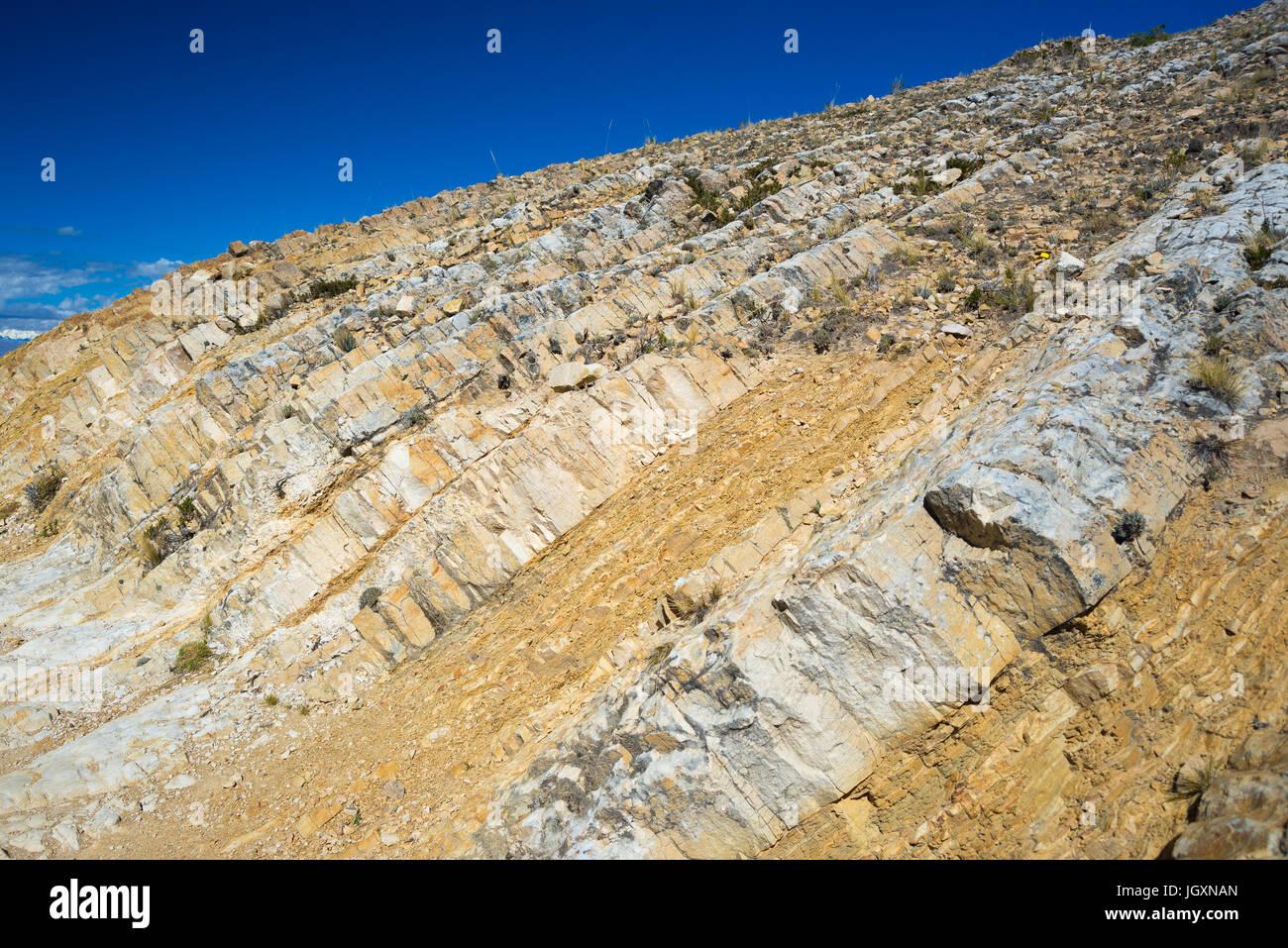 può essere utilizzato su rocce sedimentarie