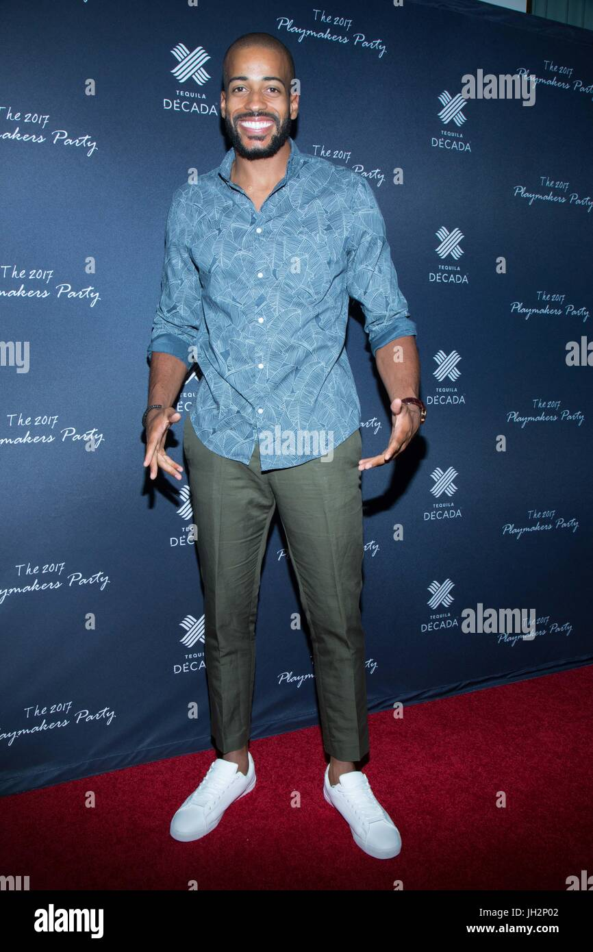 Eric Bigger assiste il 2017 Playmakers Party a Viva Hollywood sulla luglio 11, 2017 a Hollywood, in California. Foto Stock