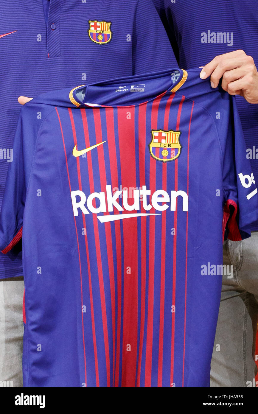 Fc Barcelona 2017 18 Immagini e Fotos Stock - Alamy