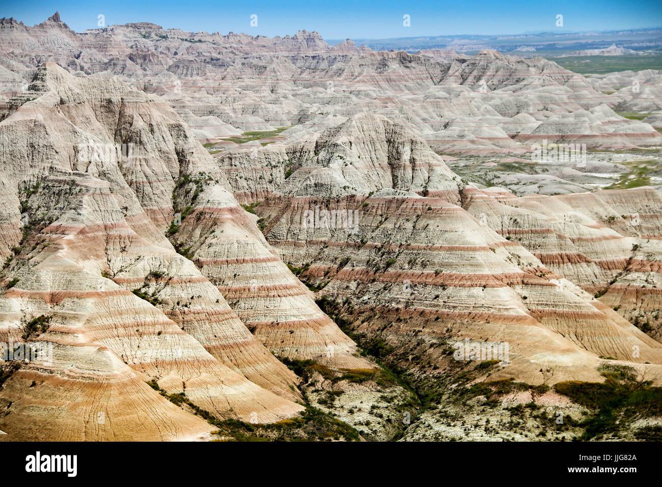 Parco nazionale Badlands Foto Stock