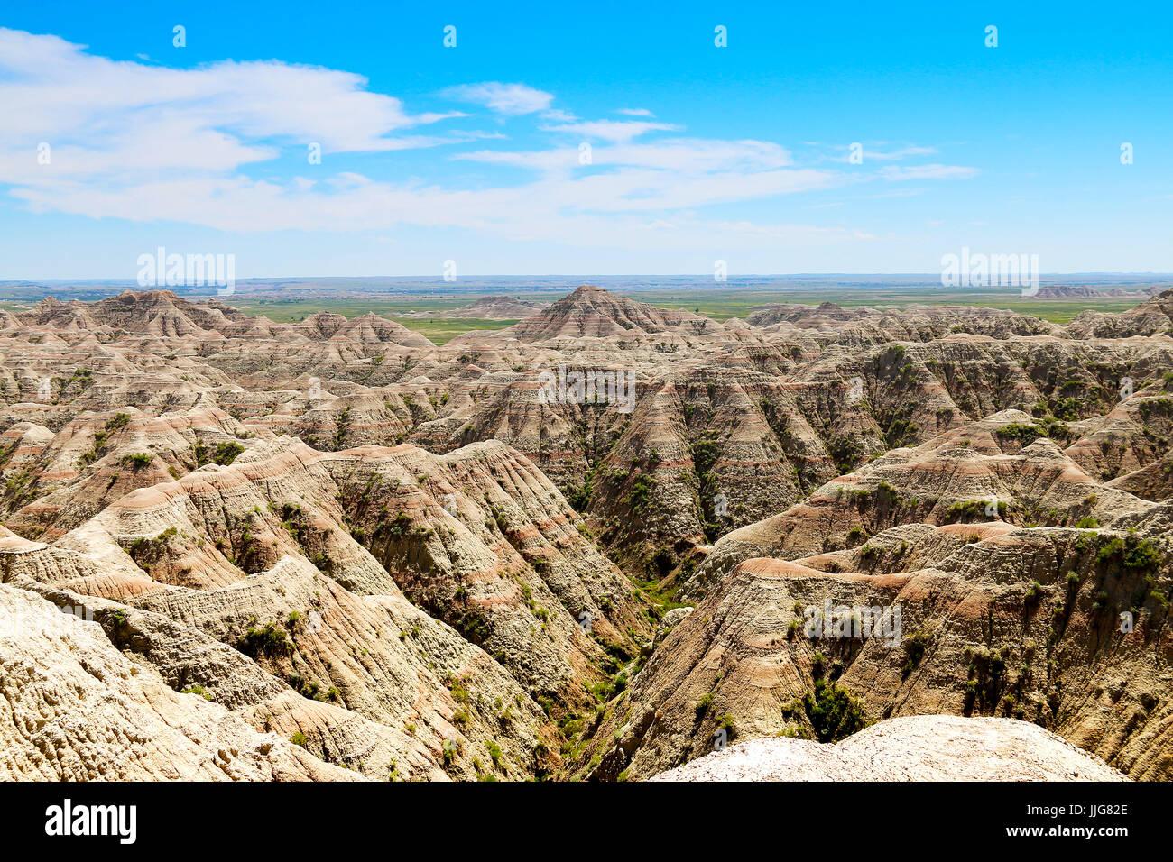 Badlands NP Foto Stock
