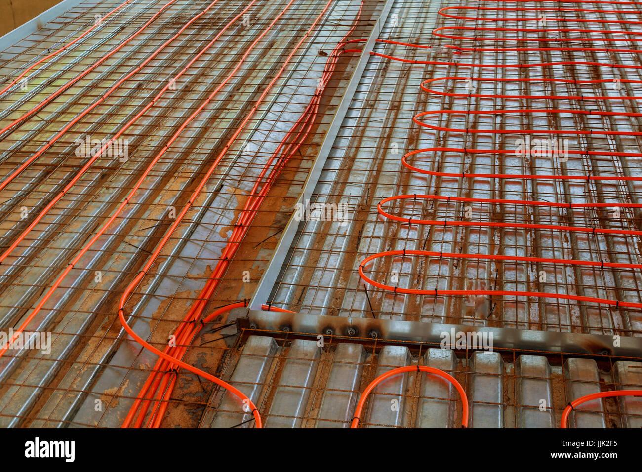 Riscaldamento A Pavimento Tubi nuovo sistema di riscaldamento a pavimento i tubi e il