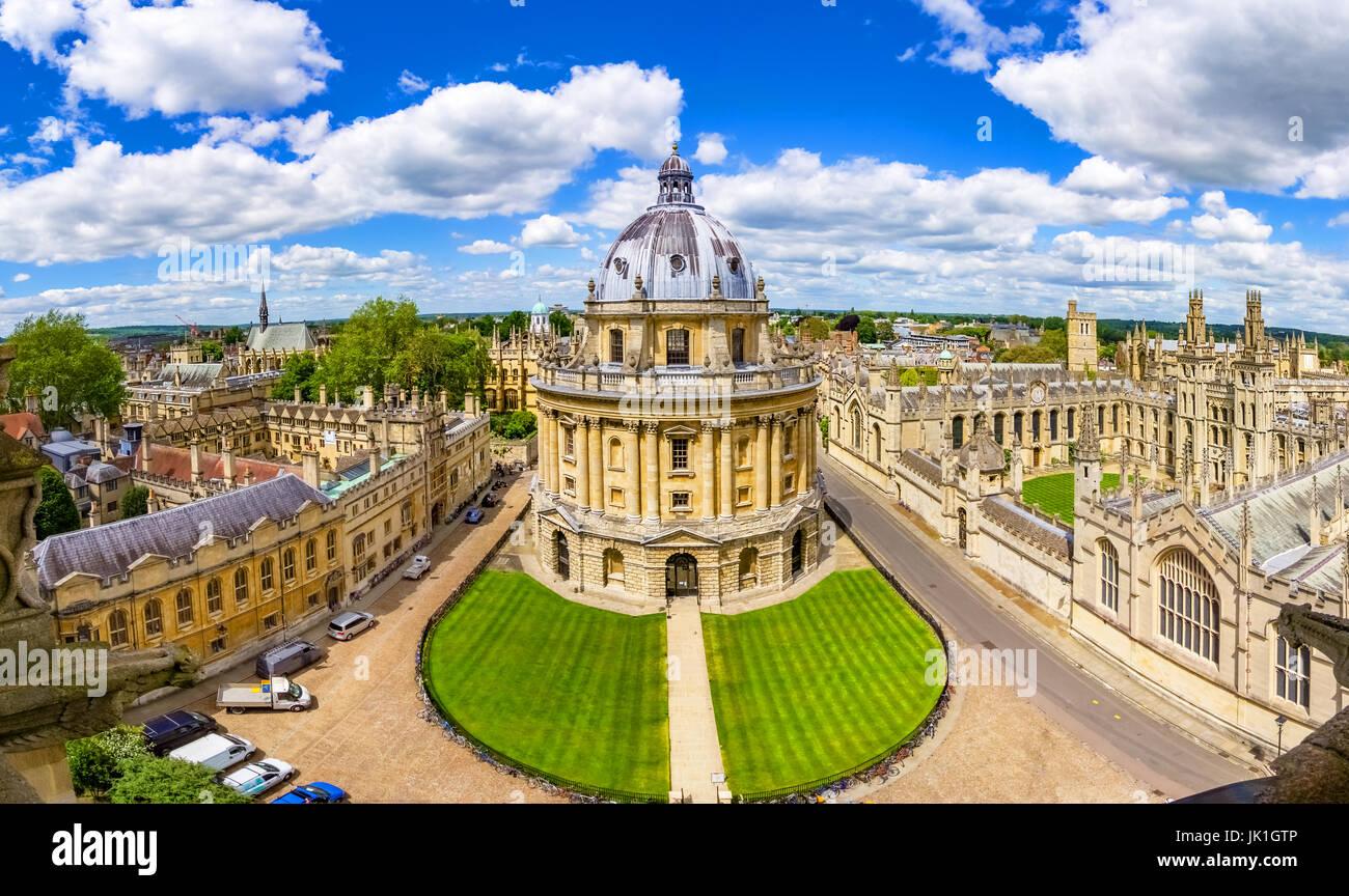 La Bodleian Library , Università di Oxford, Inghilterra, Regno Unito Immagini Stock
