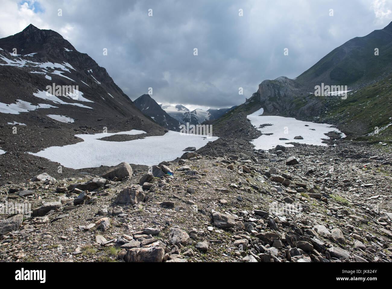Griespass Vallese Svizzera Immagini Stock