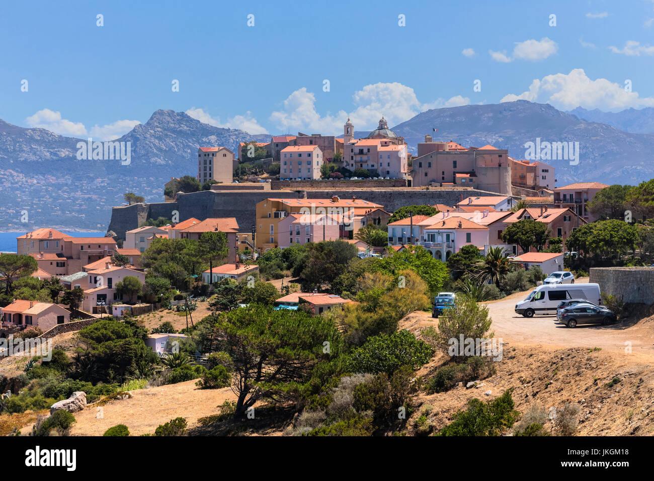 Calvi, Corsica, Francia Immagini Stock