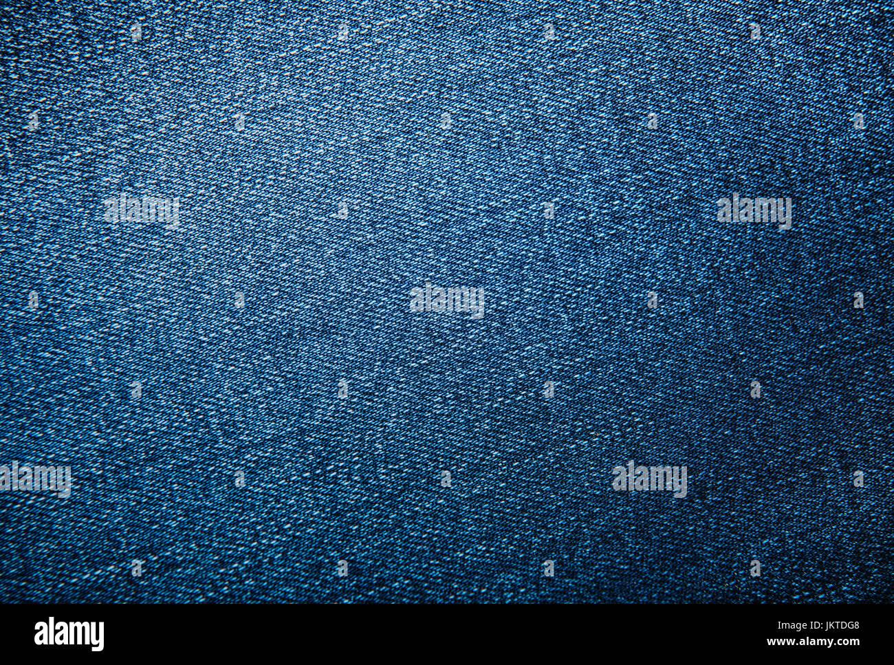 Jeans blu sullo sfondo o schema di tessitura Immagini Stock