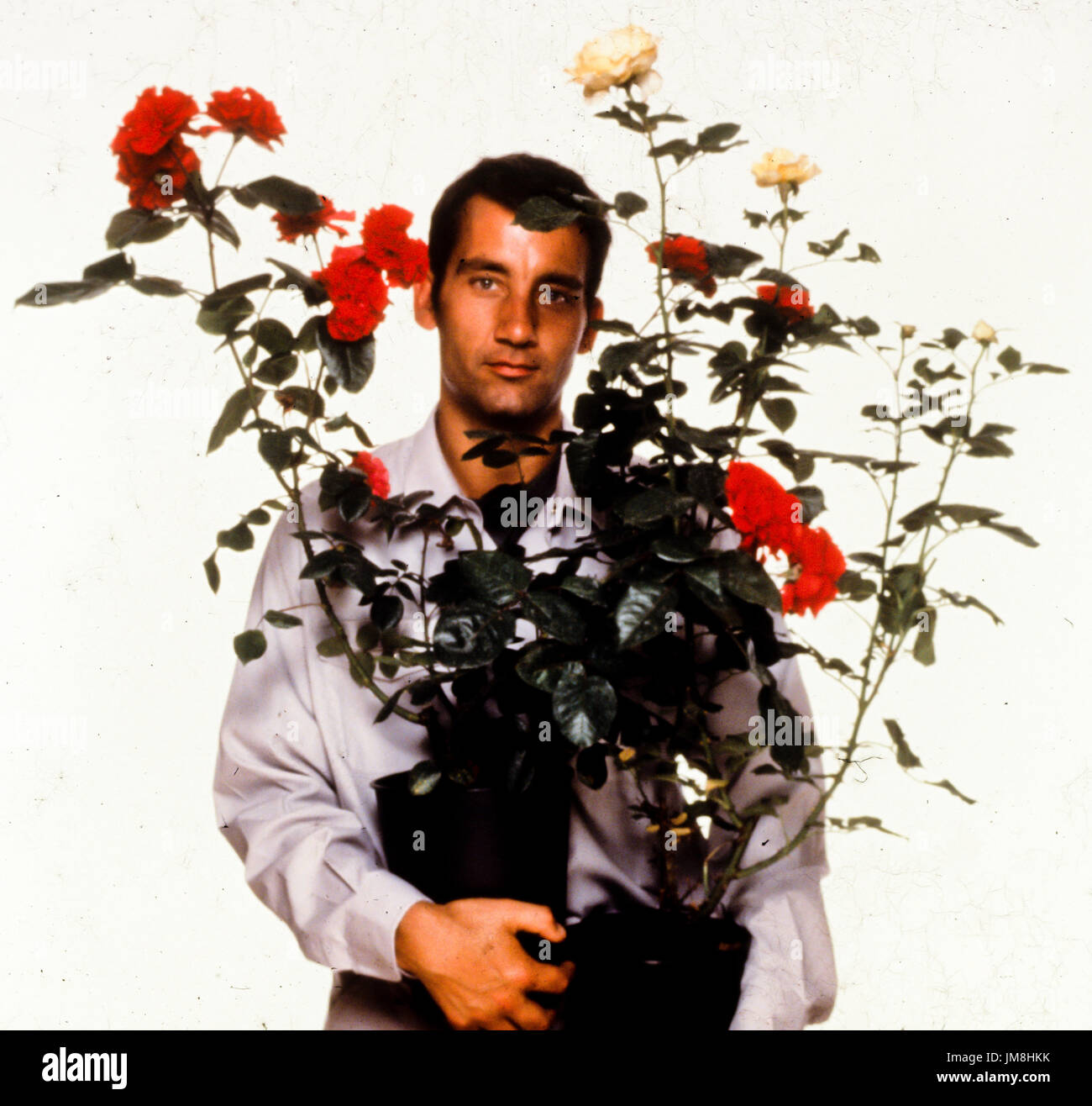 Clive Owen, greenfingers, 2001 Immagini Stock