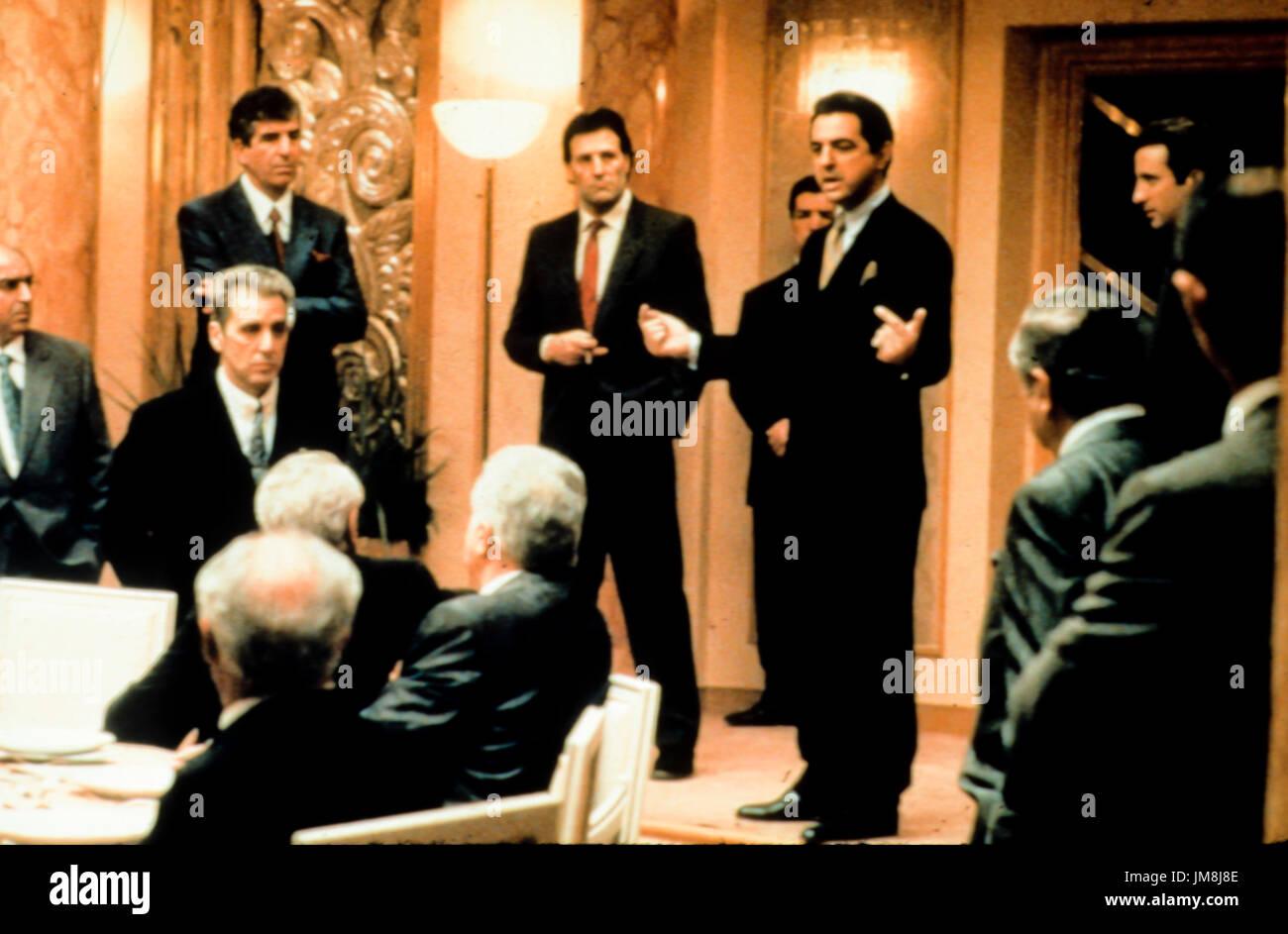 Il padrino III, 1990 Immagini Stock