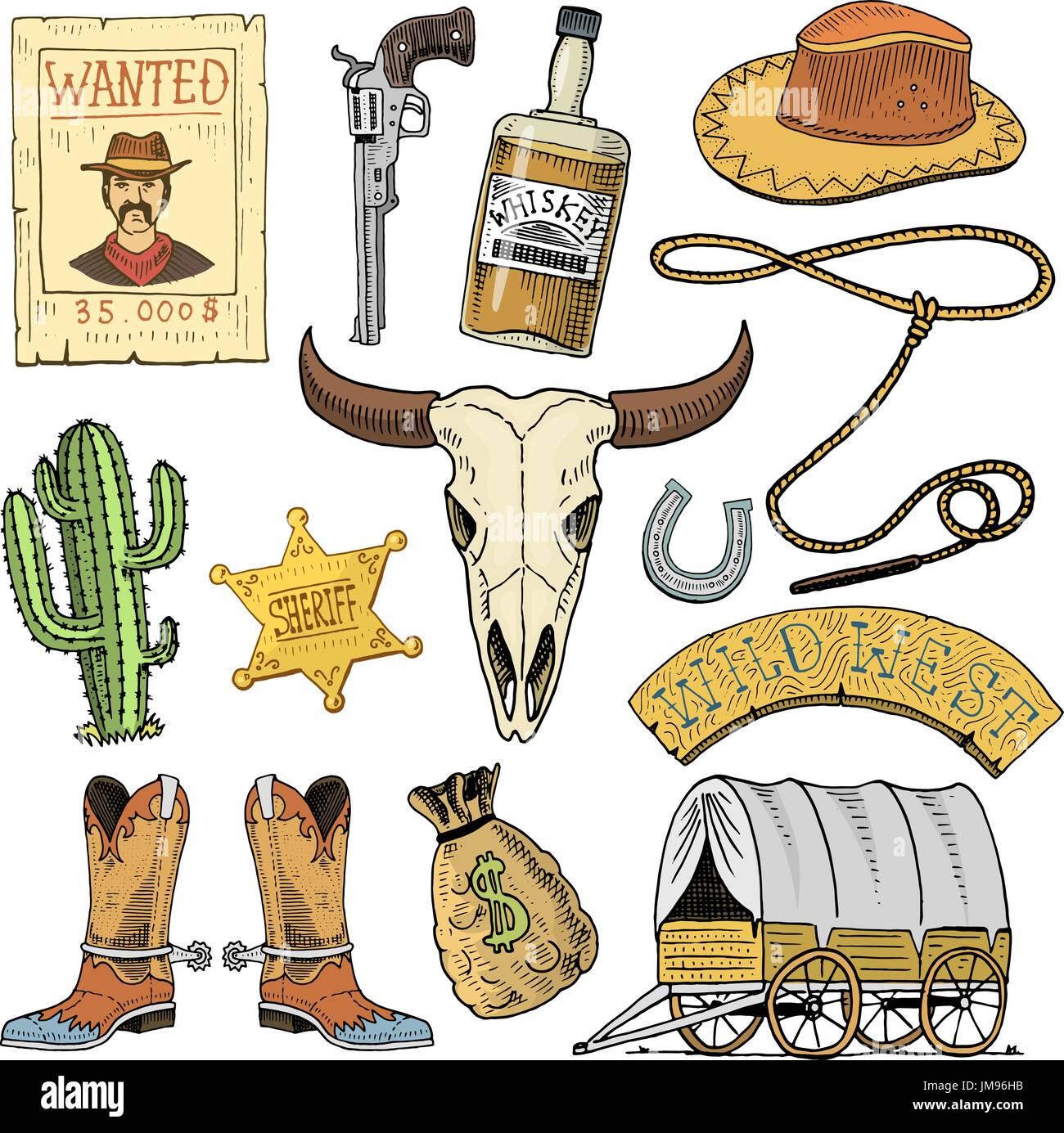 Cowboy Skull Hat Head Immagini   Cowboy Skull Hat Head Fotos Stock ... 988f942c650f