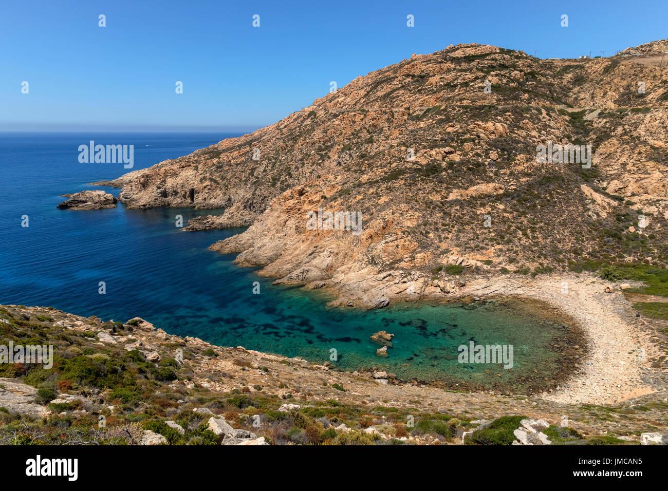 Port'Agro, Punta Coda, Calvi, La Rivellata, Corsica, Francia Immagini Stock