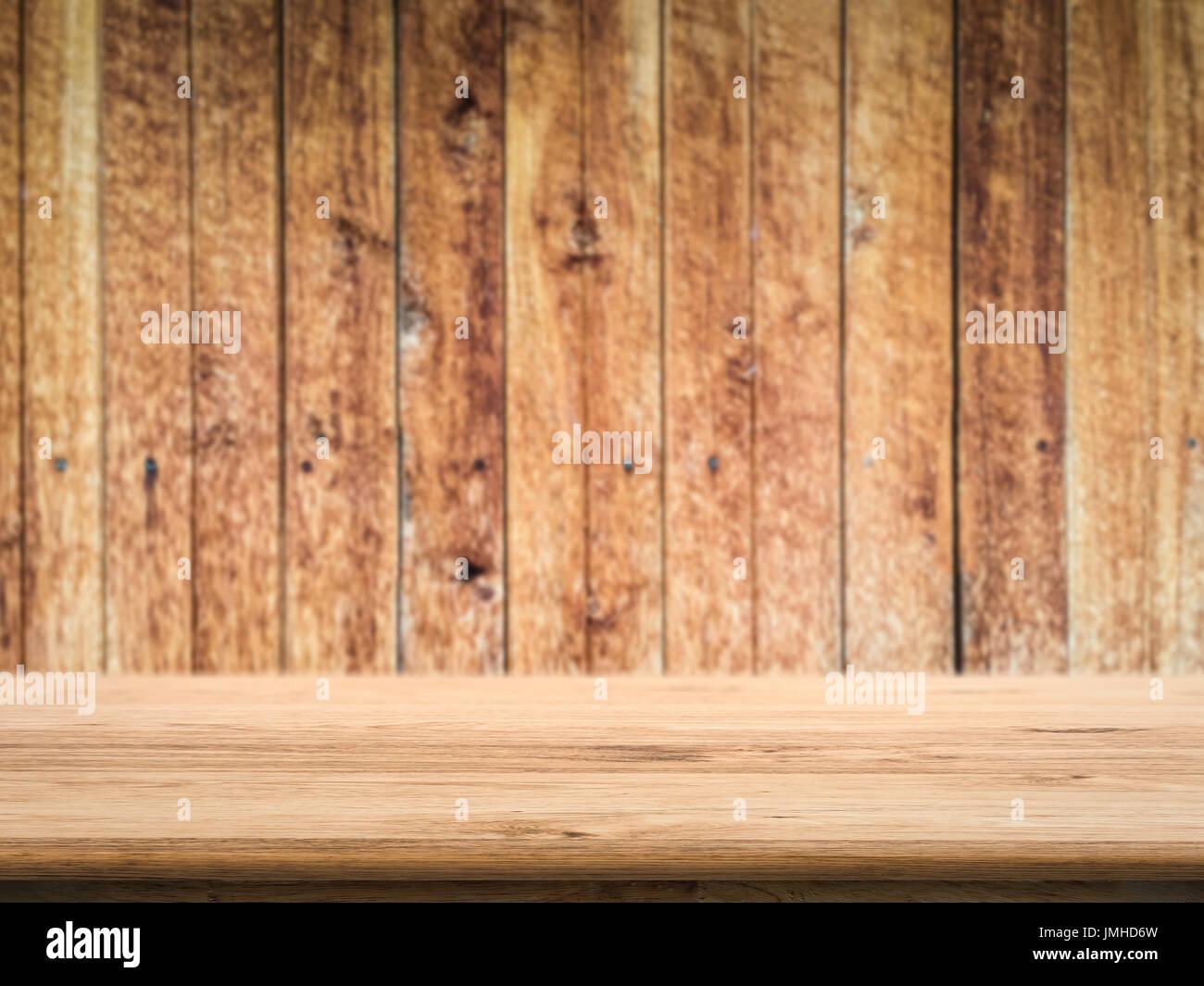 Assi Di Legno Hd : Vuoto contatore in legno top con grunge sfondo legno foto