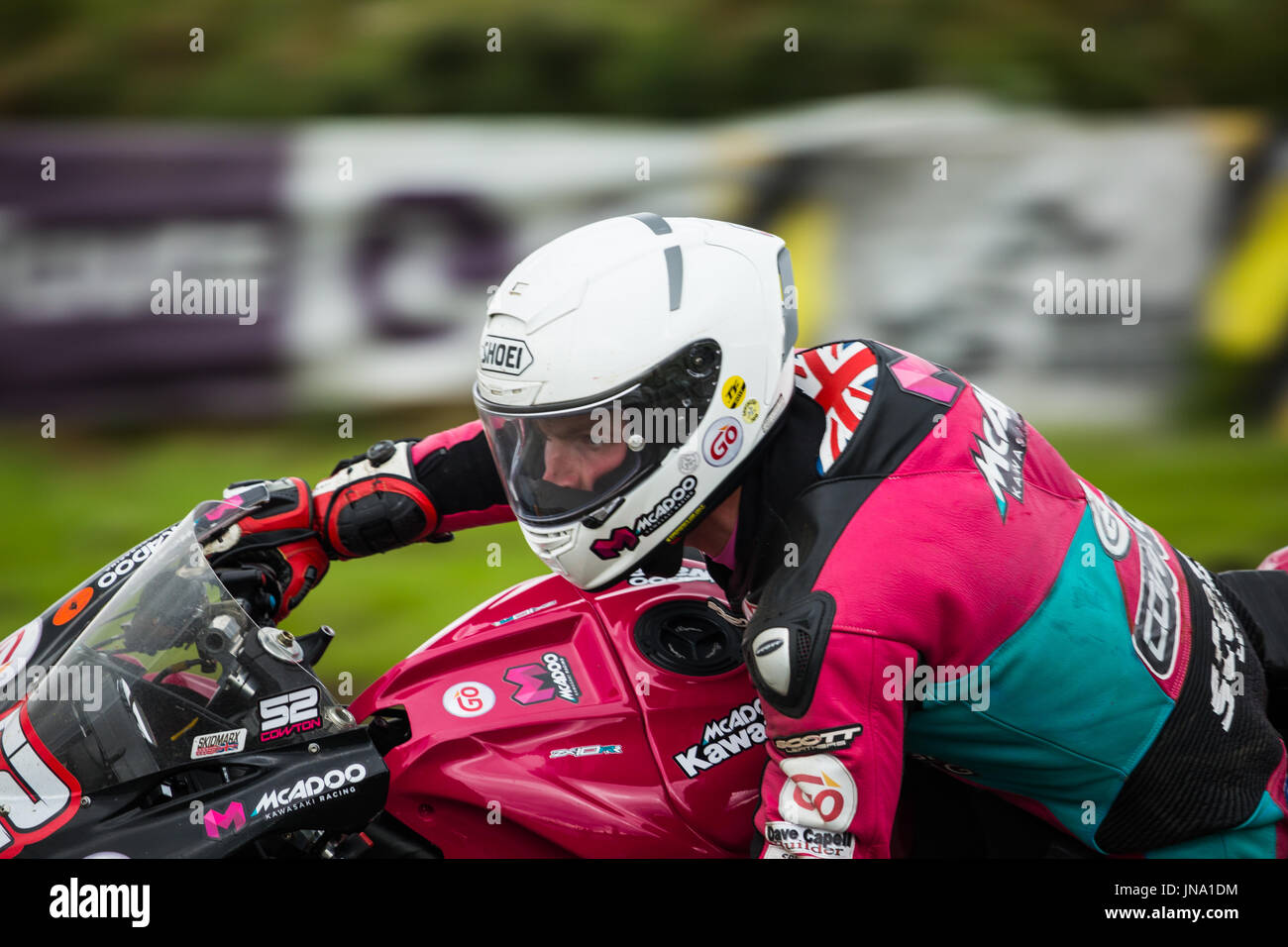 Armoy Road Race 2017 Immagini Stock