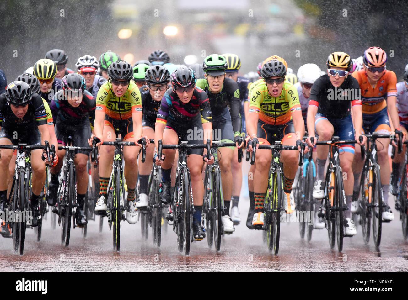 Classique Uci World Tour Femminile Professionista Cycle Race Parte