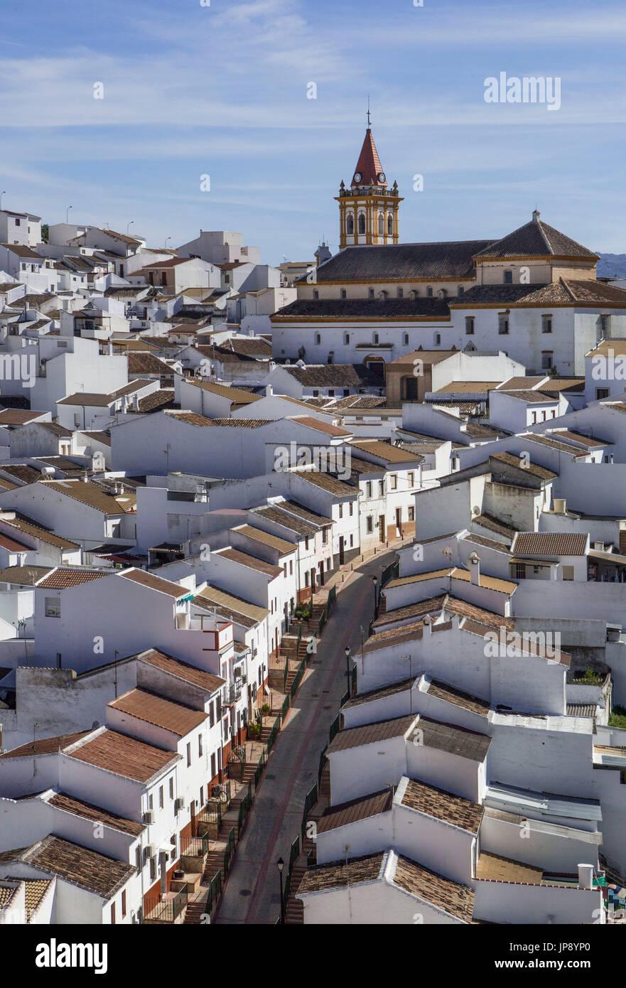 Spagna, Andalusia regione, provincia di Malaga, Teba City Foto Stock