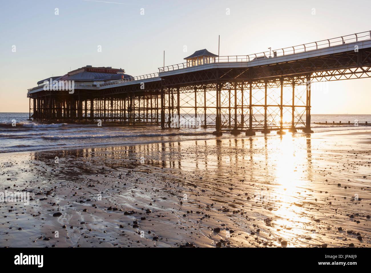 Inghilterra, Norfolk, Cromer, Cromer Pier Immagini Stock