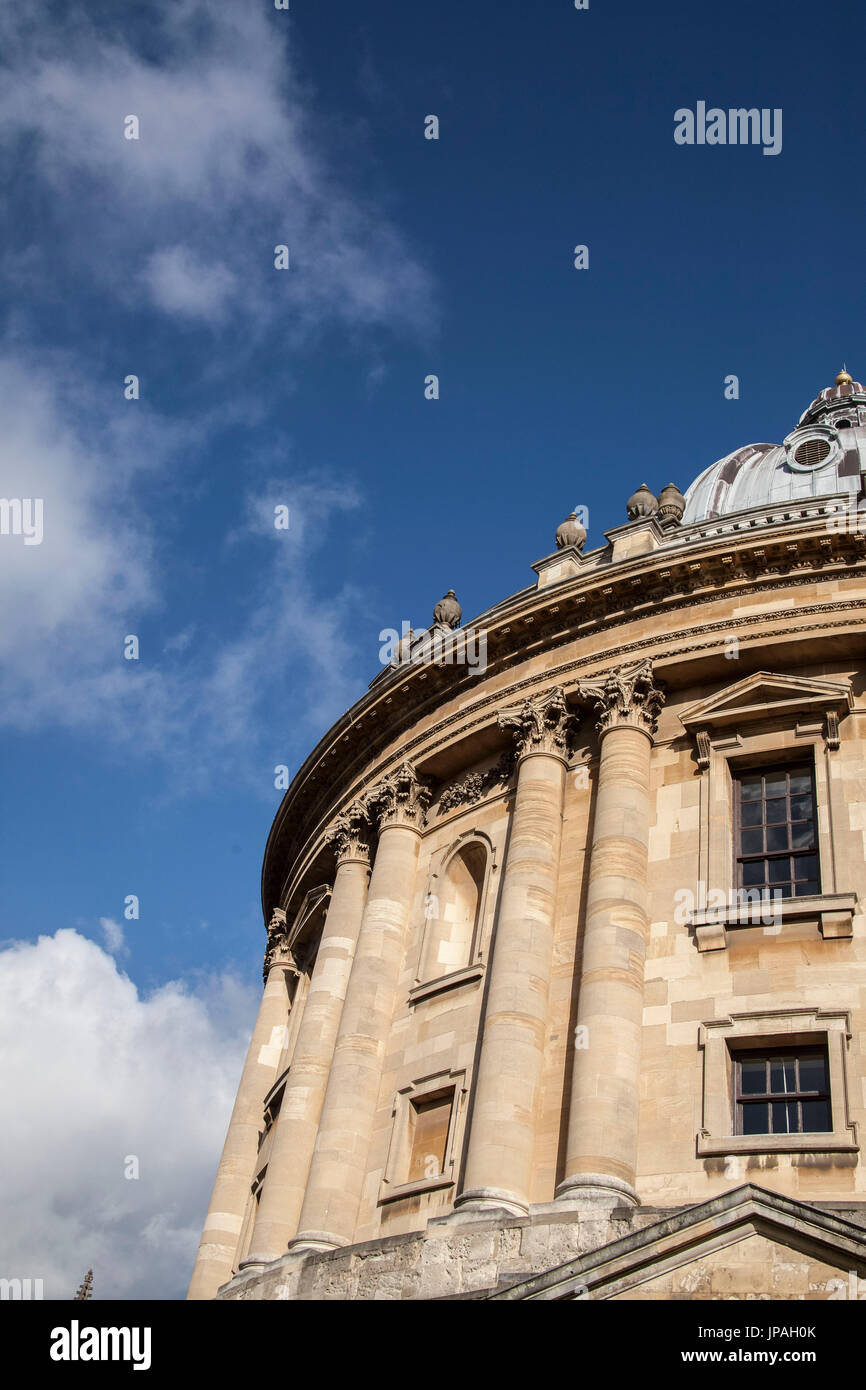Radcliffe Camera, parte della biblioteca Bodleian, Università di Oxford, Oxfordshire, Inghilterra, Gran Bretagna Immagini Stock