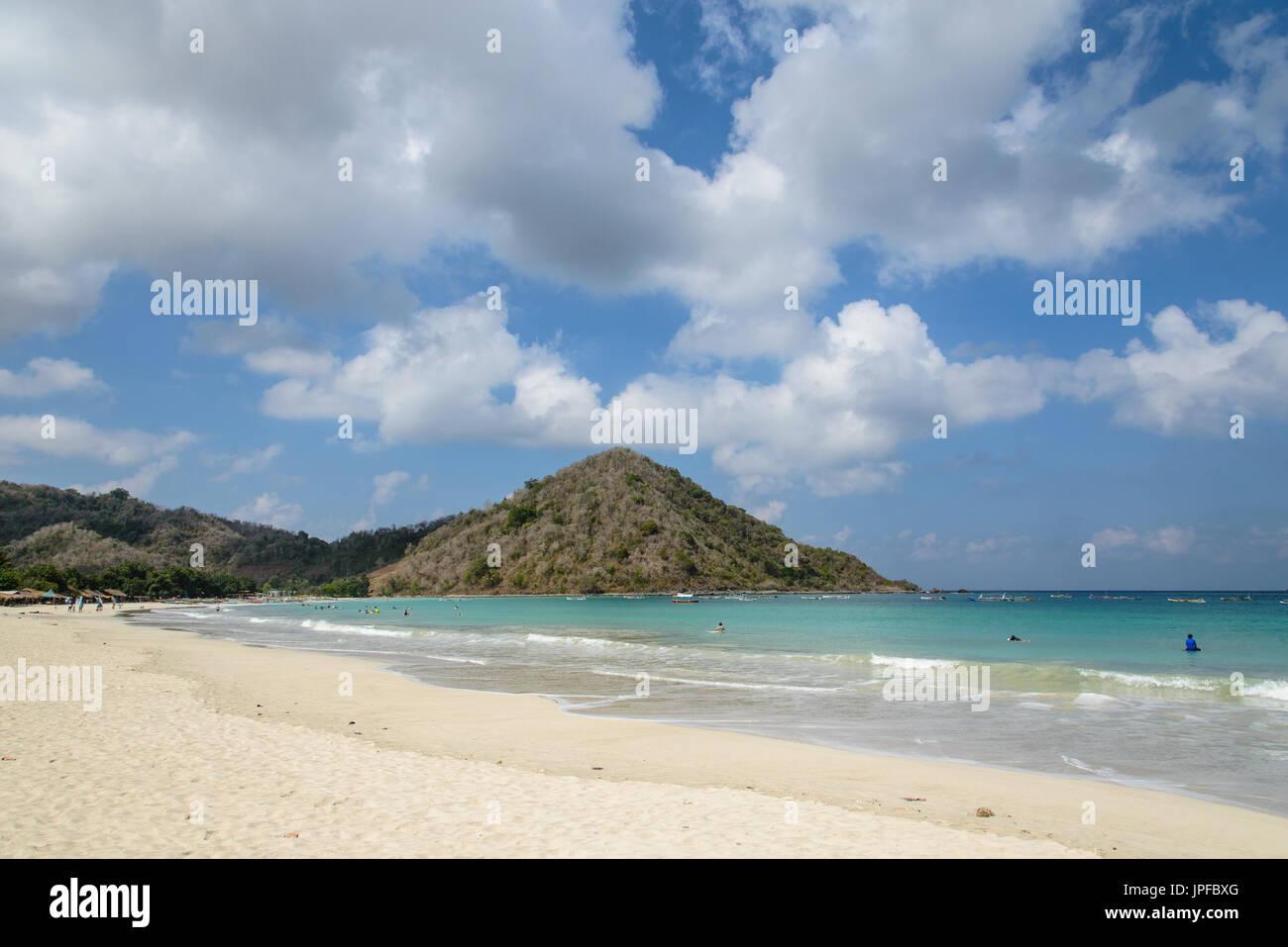 Selong Belanak Beach, Lombok, Indonesia Immagini Stock