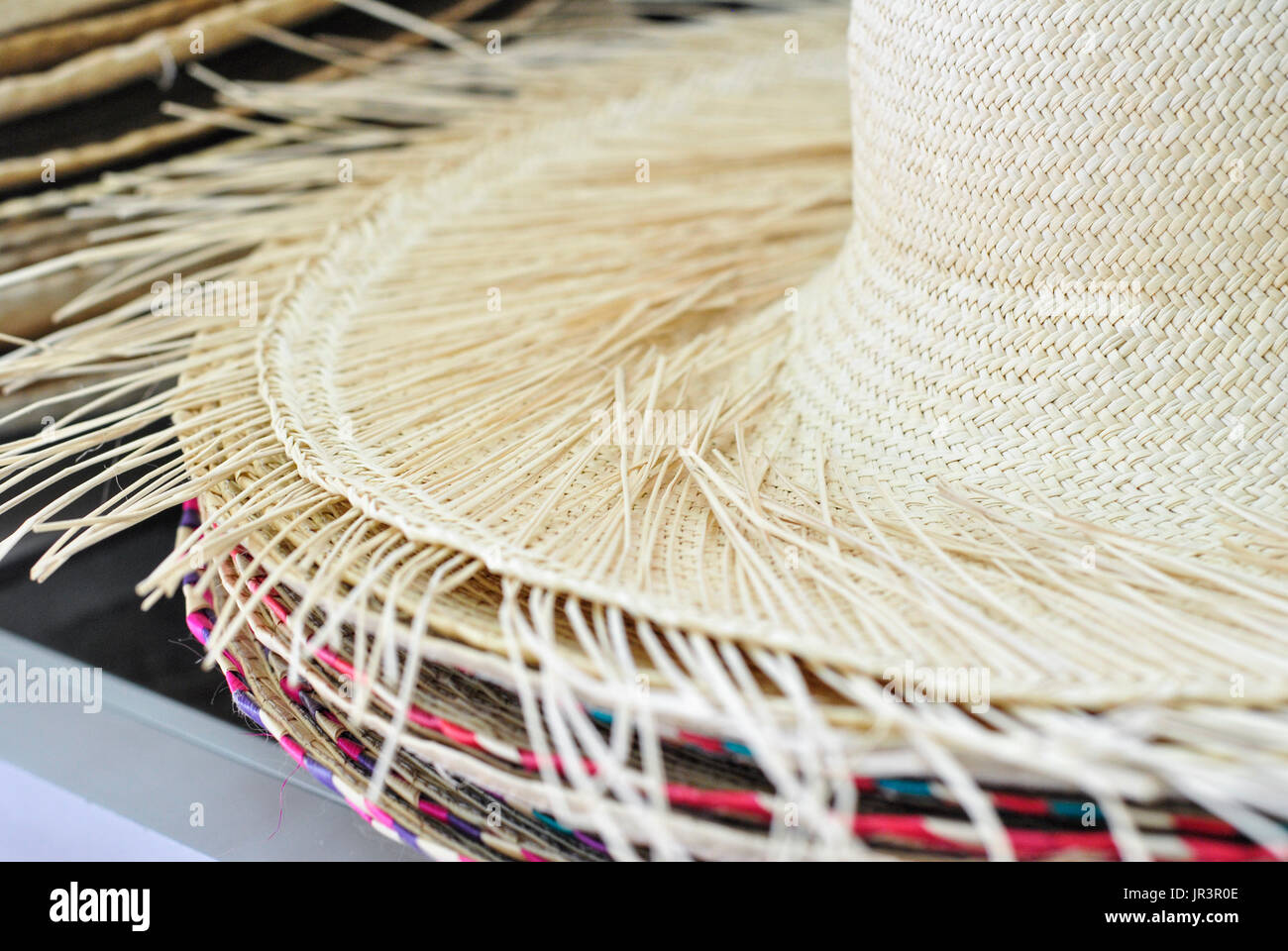 Toquilla Straw Hat Immagini   Toquilla Straw Hat Fotos Stock - Alamy 400c5b301f4b