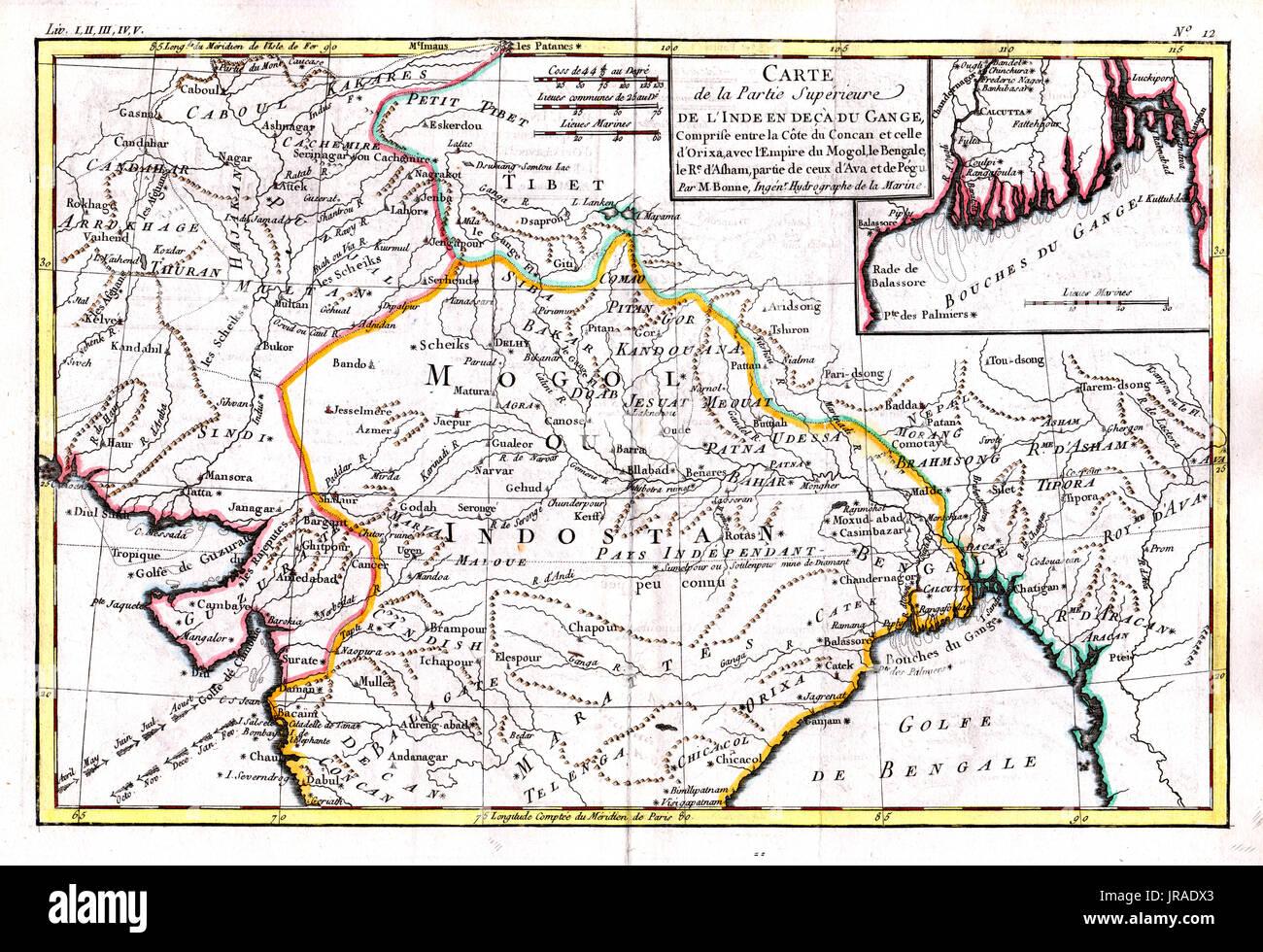 Cartina India Del Nord.India Map Punjab Immagini E Fotos Stock Alamy