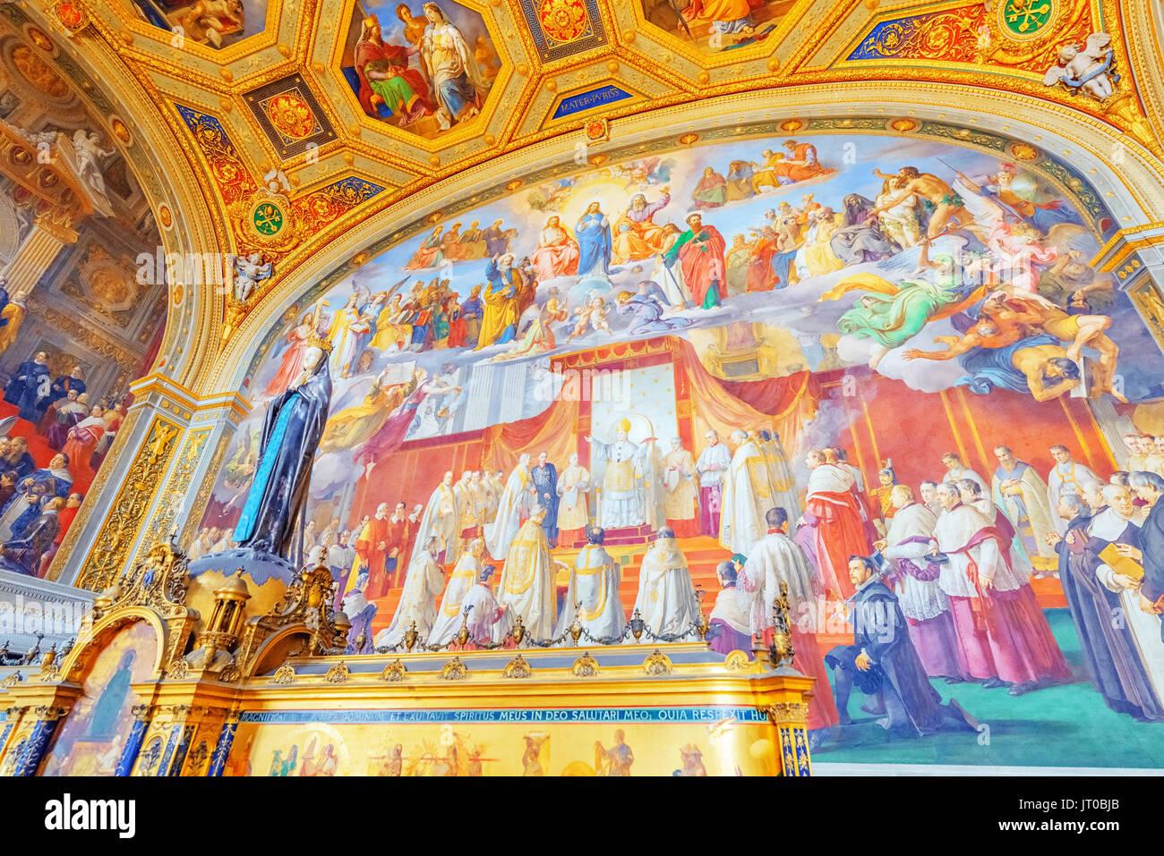Museo Del Vaticano.All Interno Del Museo Del Vaticano Uno Dei Piu Grandi Musei Del