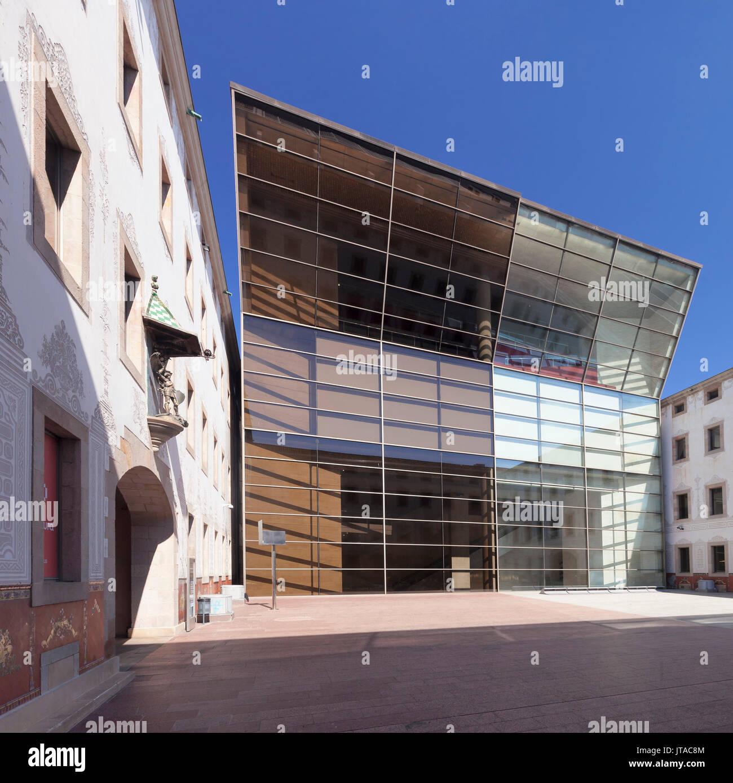 Centro delle Arti, Centre de Cultura Contemporania de Barcelona, CCCB, El Raval, Barcellona, in Catalogna, Spagna, Europa Immagini Stock