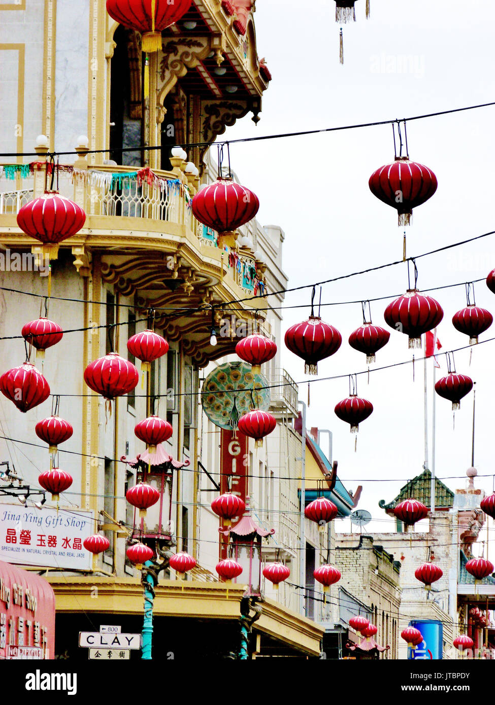 San Francisco China Town Foto Stock