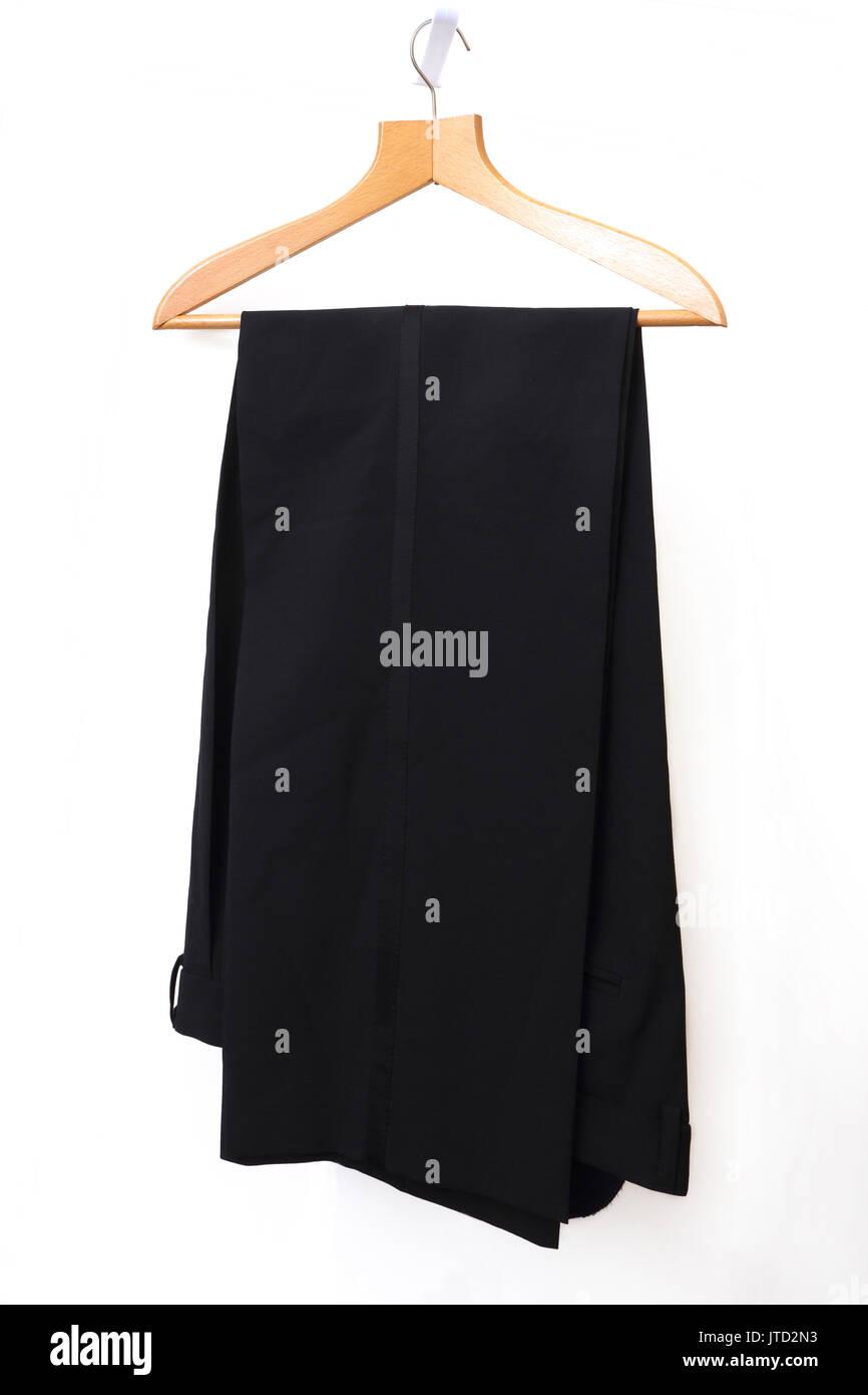 Lavabile in lavatrice abito Lana blend pantaloni Immagini Stock