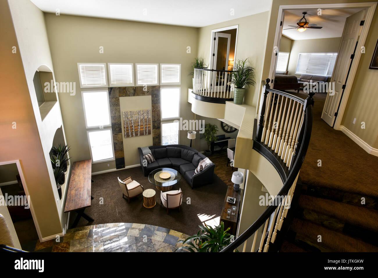 Casa residenziale interno Foto Stock