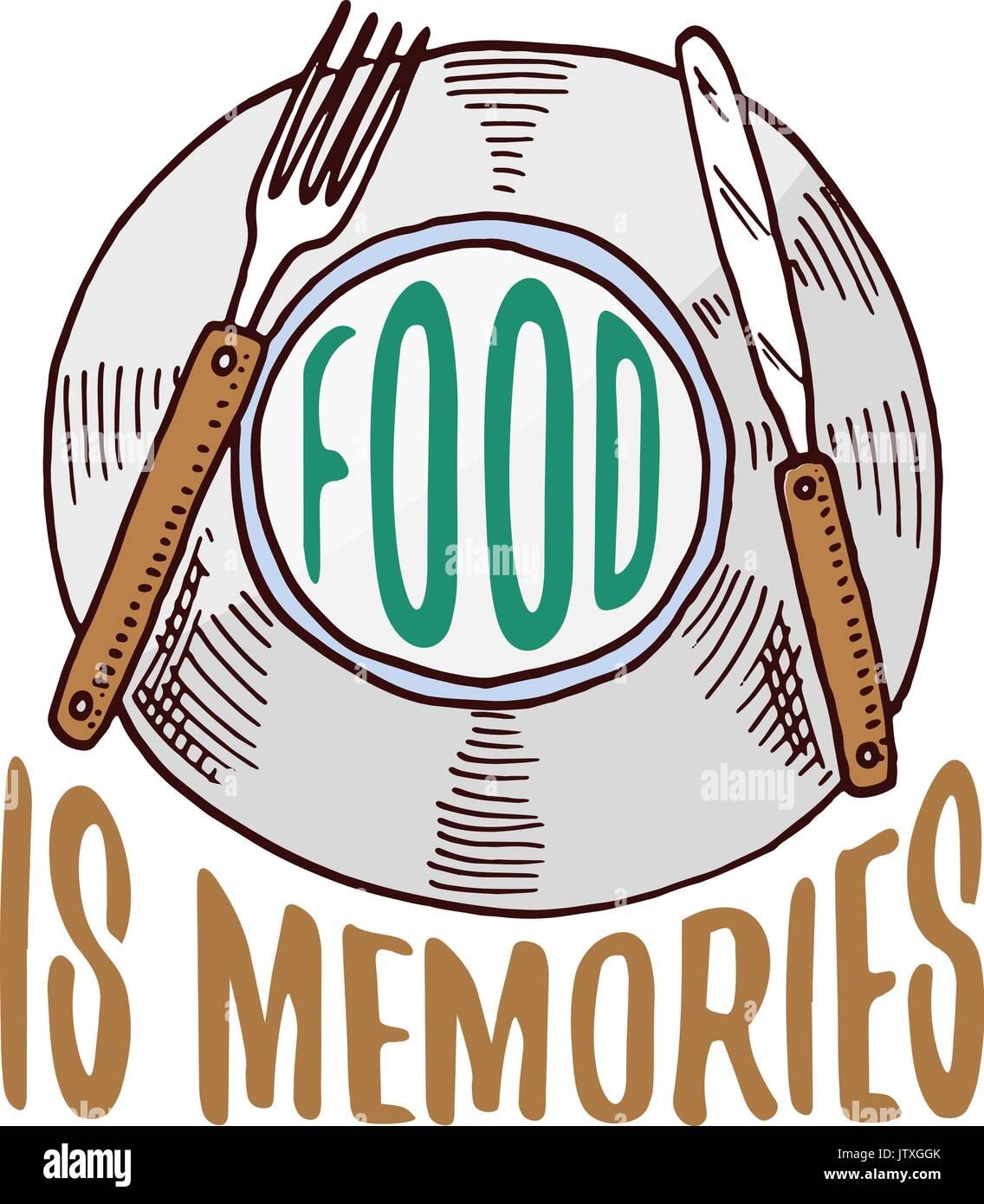 Piastra o utensili da cucina cucina roba per decorazione for Cucina logo