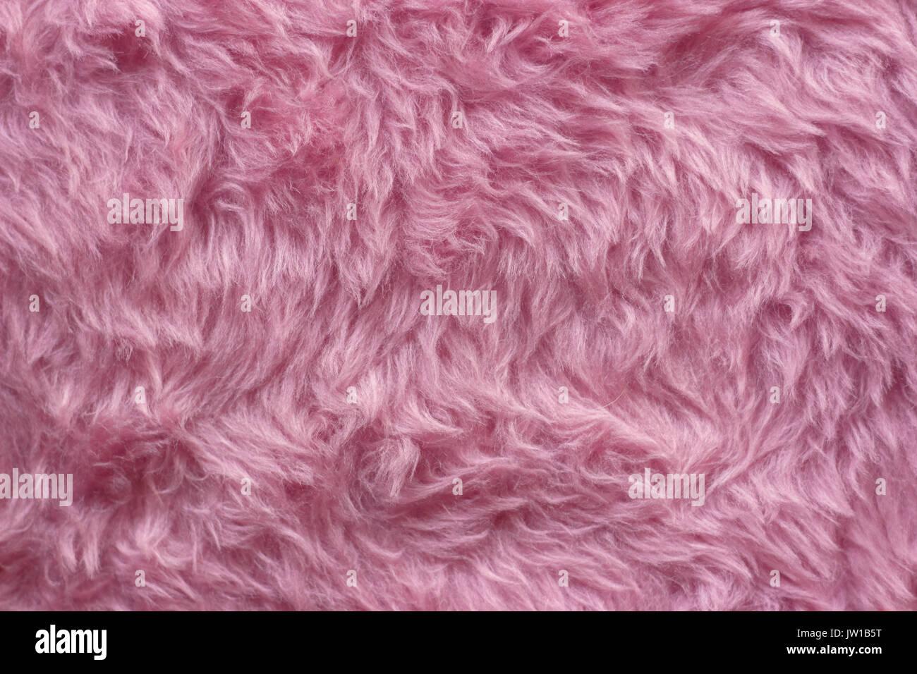 Abstract Rosa Finta Pelliccia Sfondo Foto Immagine Stock