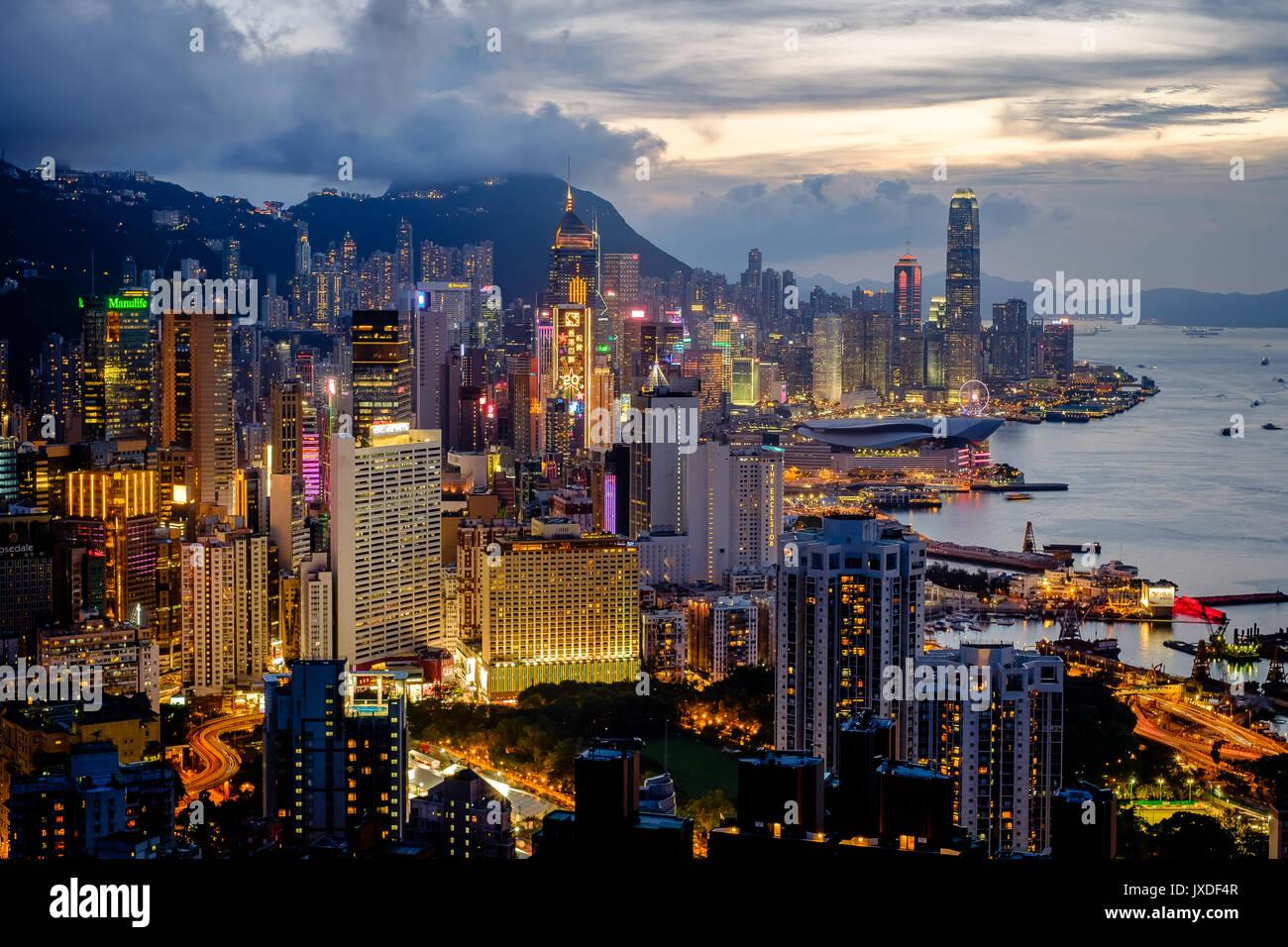 Braemar Hill, Hong Kong Immagini Stock