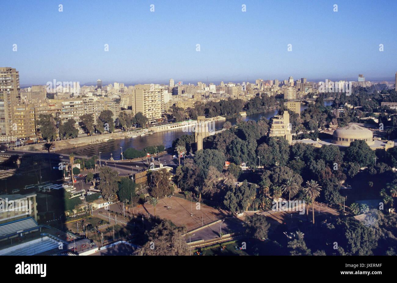 Egitto Cairo vista sulla città 2000 Immagini Stock