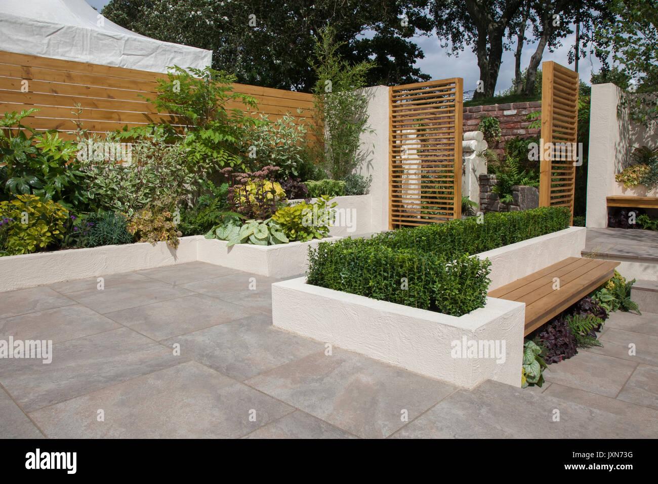 Giardini Moderni E Contemporanei : Southport merseyside regno unito. 2017.  un moderno e