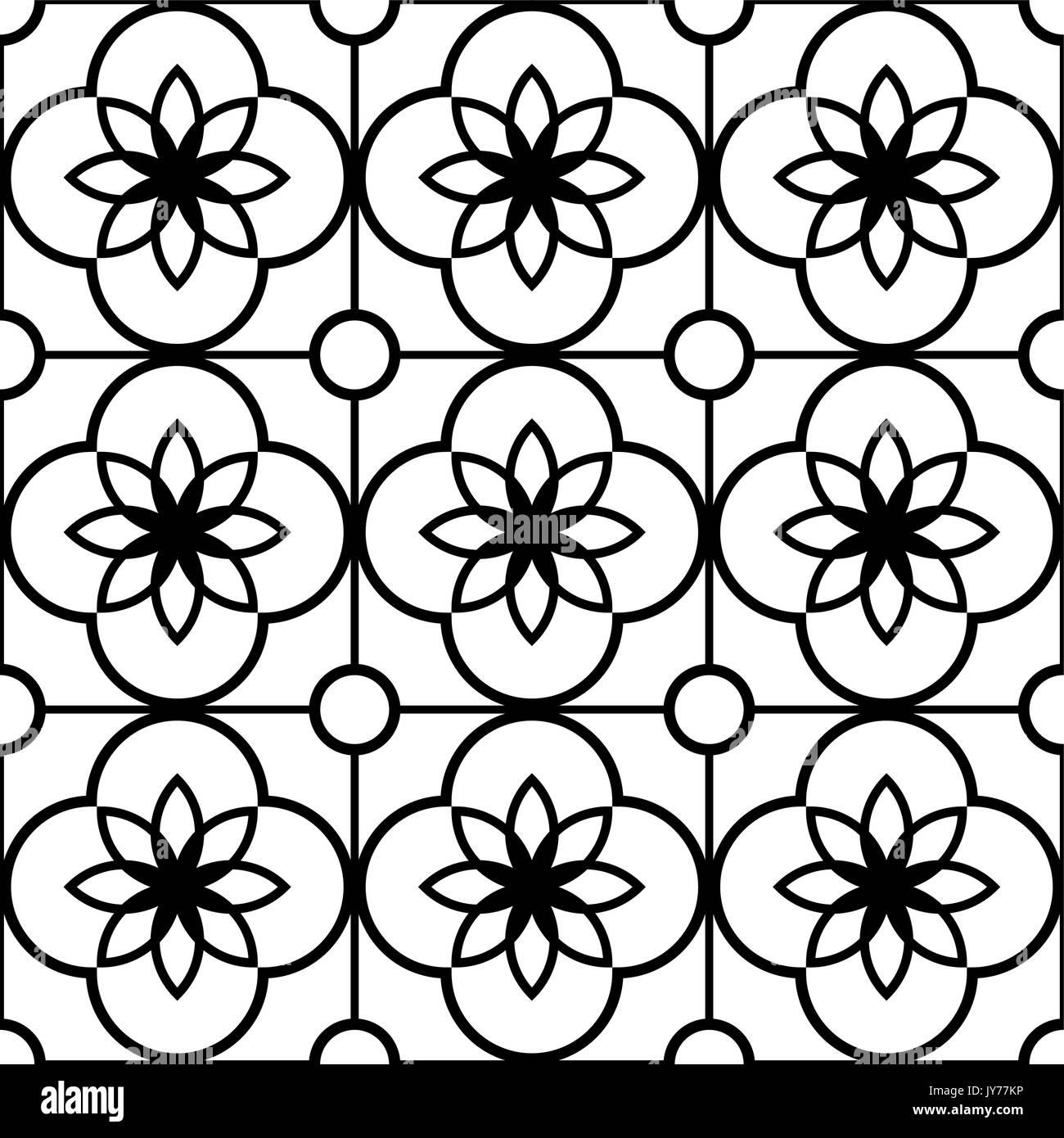 Portugal modern azulejo immagini portugal modern azulejo fotos stock alamy - Piastrelle bianche e nere ...
