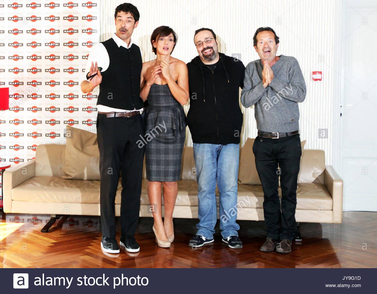 Ambra Angiolini, Rocco Papaleo, Alessandro Gasmann e Massimiliano ...